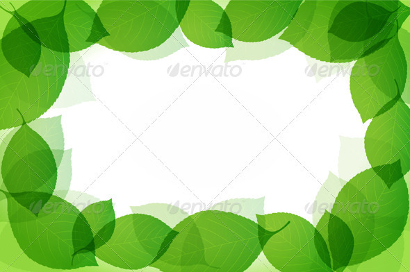 Green Leaves - Backgrounds Decorative