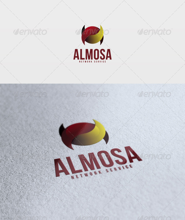 Almosa Logo - Vector Abstract