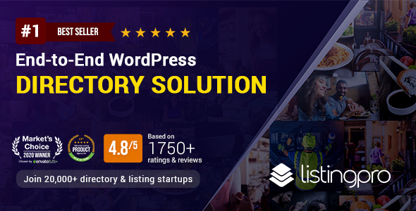 Wondrous ListingPro - WordPress Directory Theme