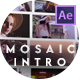 Intro Video Wall Mosaic Logo Reveal - VideoHive Item for Sale