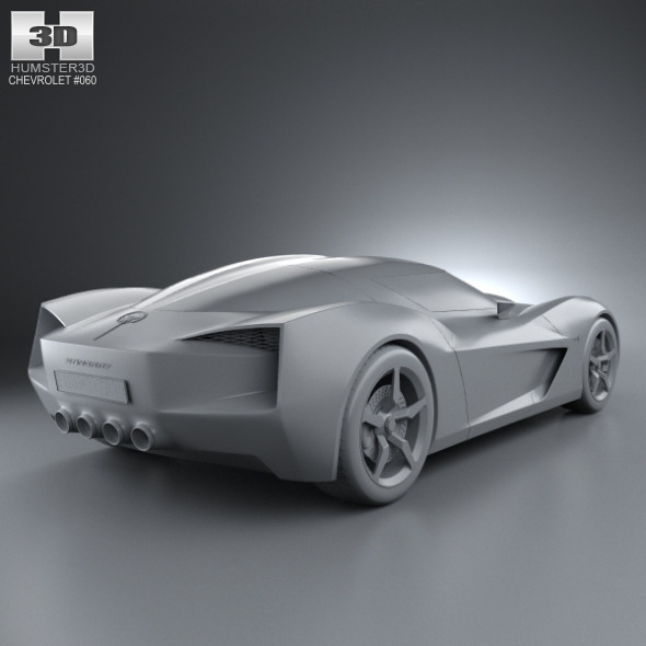 Chevrolet Stingray Concept 2009 By Humster3d 3docean