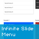 jQuery Infinite Slide Menu Plugin