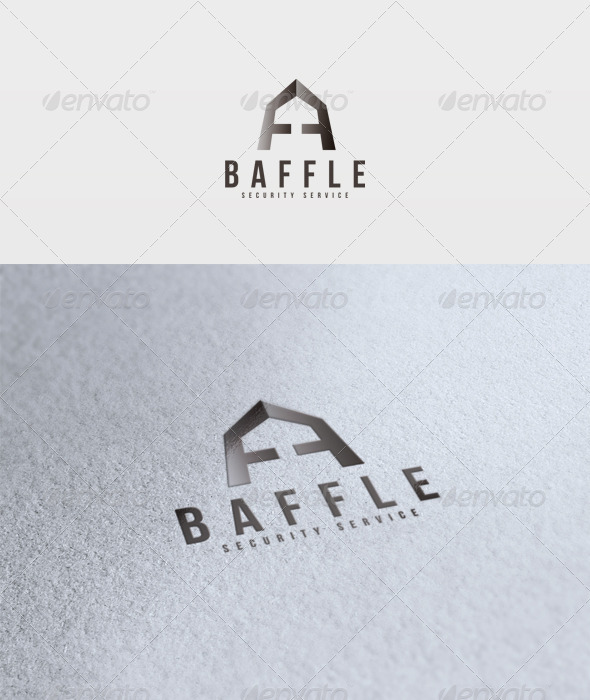 Baffle Logo - Vector Abstract