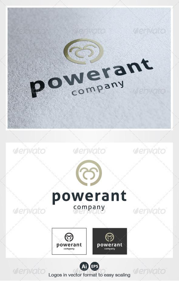 Power Ant Logo - Symbols Logo Templates