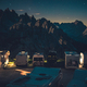 Scenic Starry Sky RV Park Camping in the Dolomites - PhotoDune Item for Sale