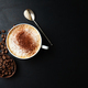 Appetizing fresh cappuccino in cup - PhotoDune Item for Sale