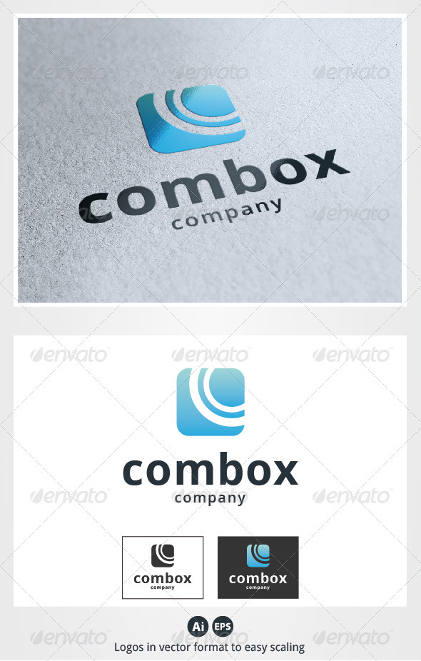 Com Box Logo - Symbols Logo Templates