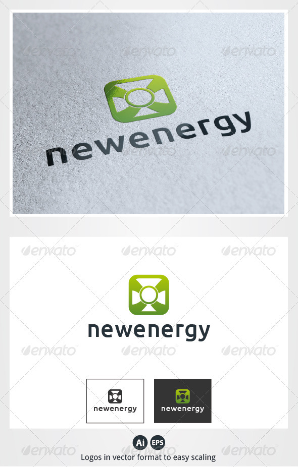 New Energy Logo - Symbols Logo Templates
