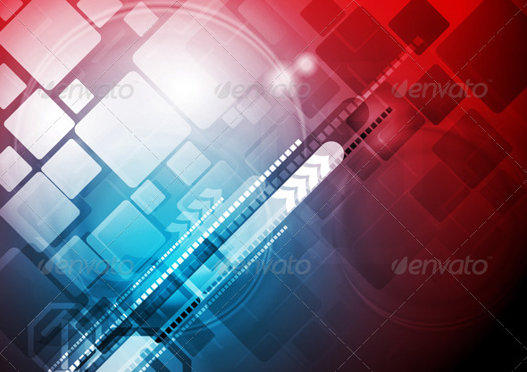 Abstract tech design - Backgrounds Decorative