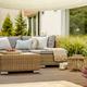 Comfortable wicker garden furniture - PhotoDune Item for Sale