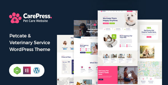 CarePress - Pet Care WordPress Theme