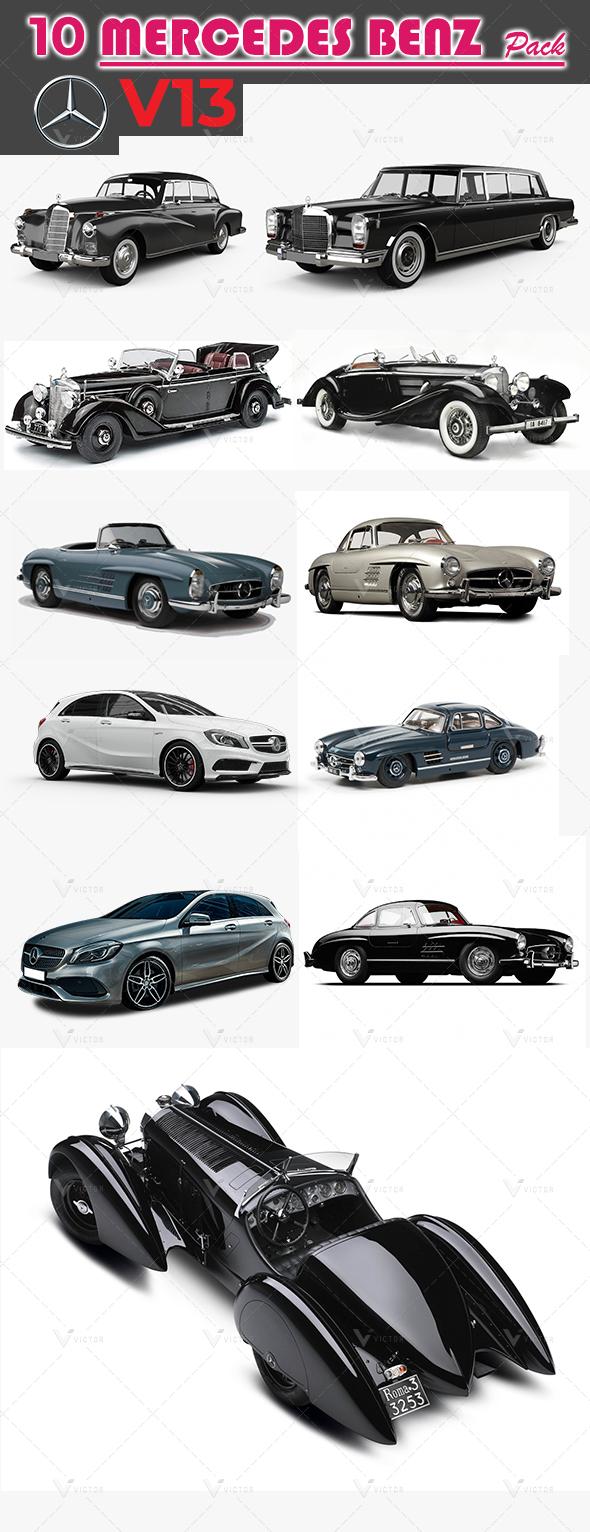 10 Mercedes Pack V13