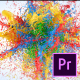 Exploding Paint Logo Reveal – Premiere Pro - VideoHive Item for Sale