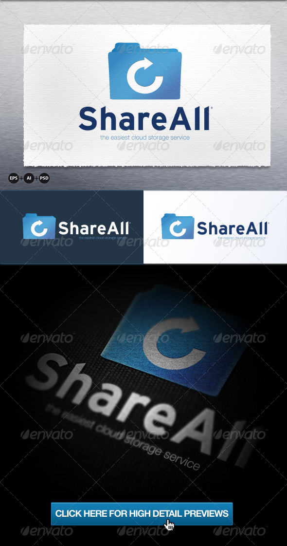 Shareall - Objects Logo Templates