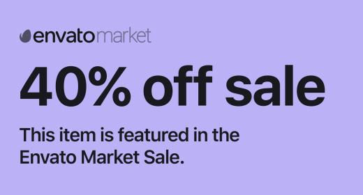 40% Sales