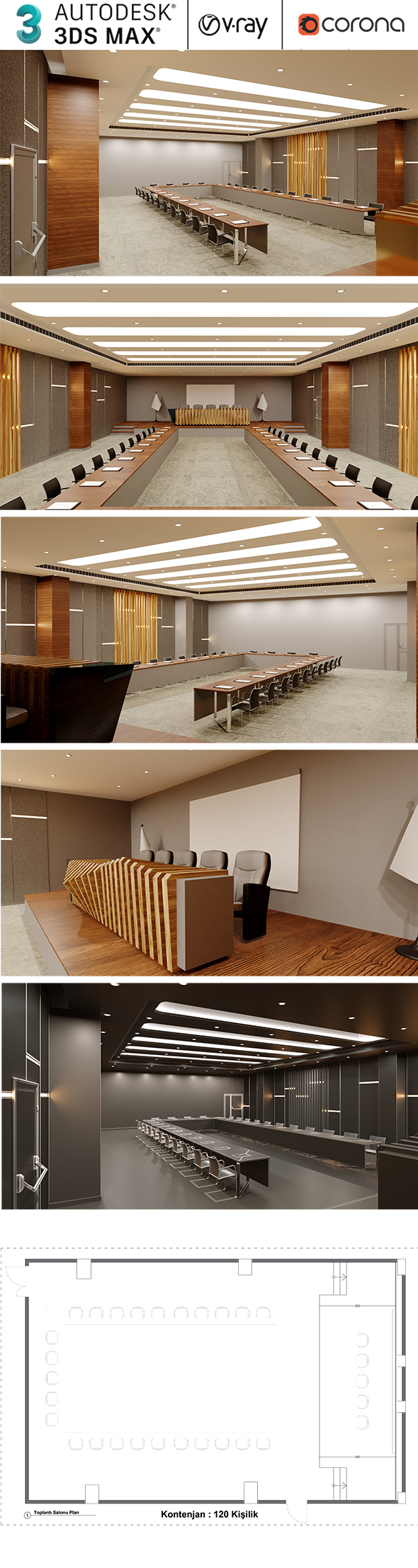 Conference And Meeting Hall Design