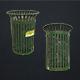 Waste Bin - Low Poly