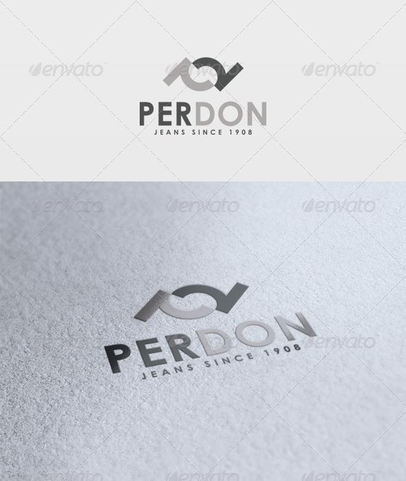 Perdon Logo - Letters Logo Templates