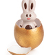 Easter egg with chocolate bunny - PhotoDune Item for Sale