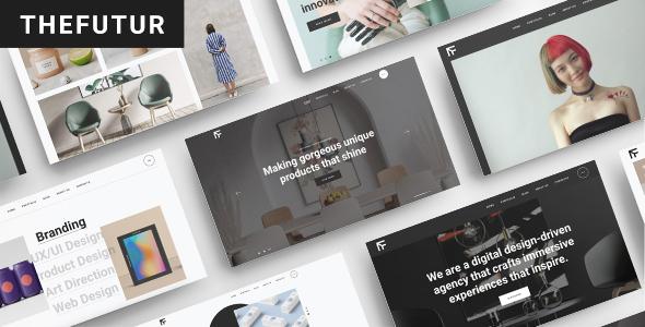 Download TheFutur – Portfolio Agency WordPress Theme Free Nulled
