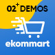Leo Ekommart Supermarket Hitech & Home Appliance Prestashop Theme
