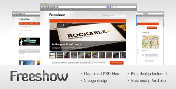 Free Download Freeshow - business/portfolio Nulled Latest Version