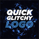 Quick Glitchy Logo Reveal - VideoHive Item for Sale