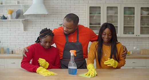 Single Father Chores