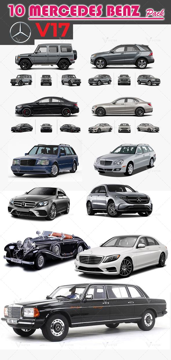 10 Mercedes Pack V17
