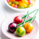 Sweet fruity lollipops and jelly beans. - PhotoDune Item for Sale