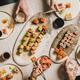 Family or friends having Japanese traditional sushi dinner at quarantine - PhotoDune Item for Sale