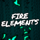 Fire Elements // Mogrt - VideoHive Item for Sale