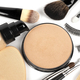 Set of decorative cosmetics on white background - PhotoDune Item for Sale