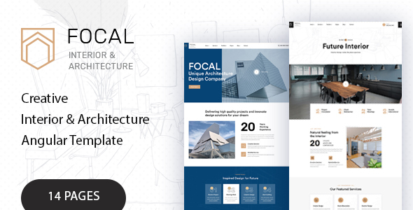 Wonderful Focal - Architecture Agency Angular Template