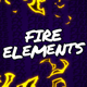 Fire Elements // Final Cut Pro - VideoHive Item for Sale