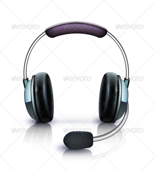 Headphones icon - Objects Vectors