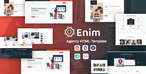 Enim – Corporate Business HTML Template
