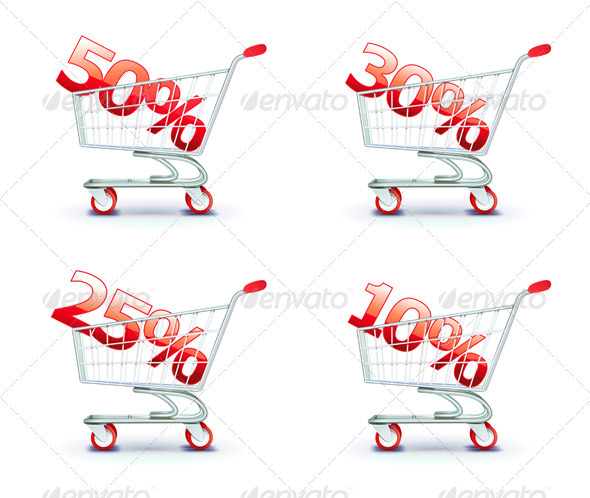 Shopping cart  - Commercial / Shopping Conceptual