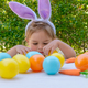 Cute Little Easter Baby Bunny - PhotoDune Item for Sale