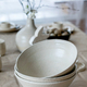 Set of empty craft white ceramic bowls - PhotoDune Item for Sale