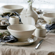 Easter dinner table setting with ceramic tableware - PhotoDune Item for Sale