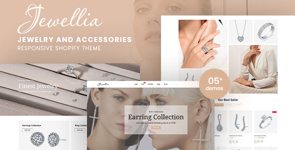 Jewellia - Jewelry And Accessories Responsive Shopify Theme