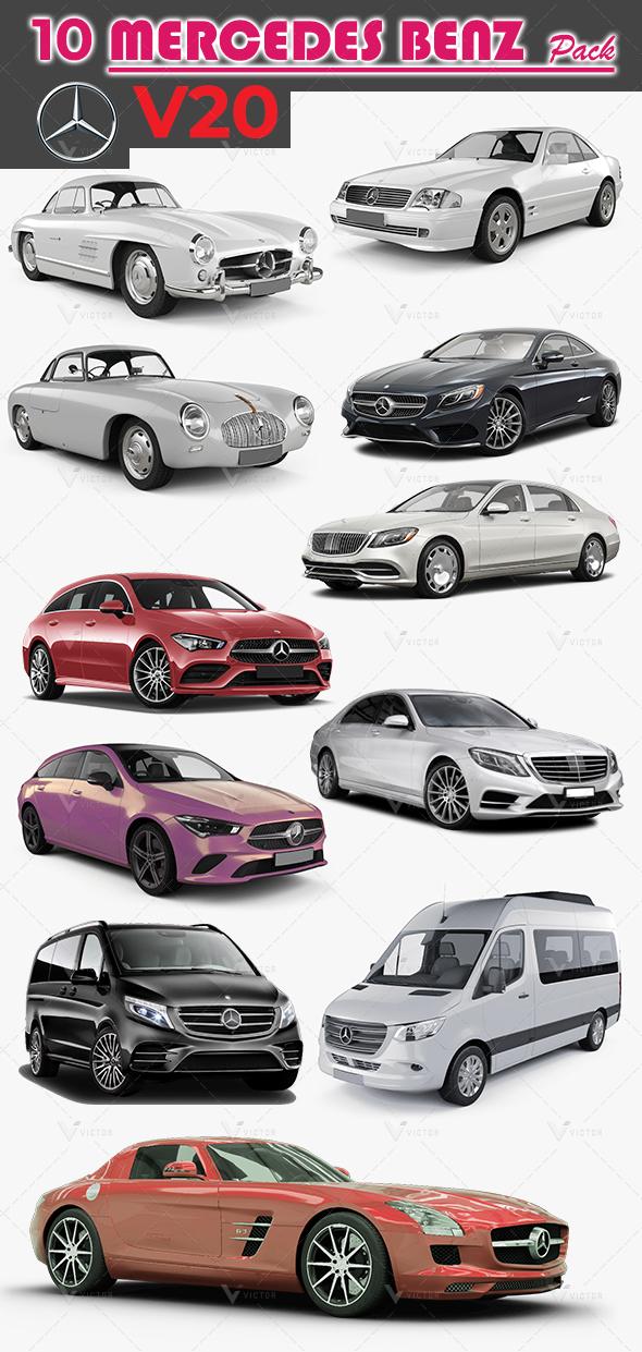 10 Mercedes Pack V20