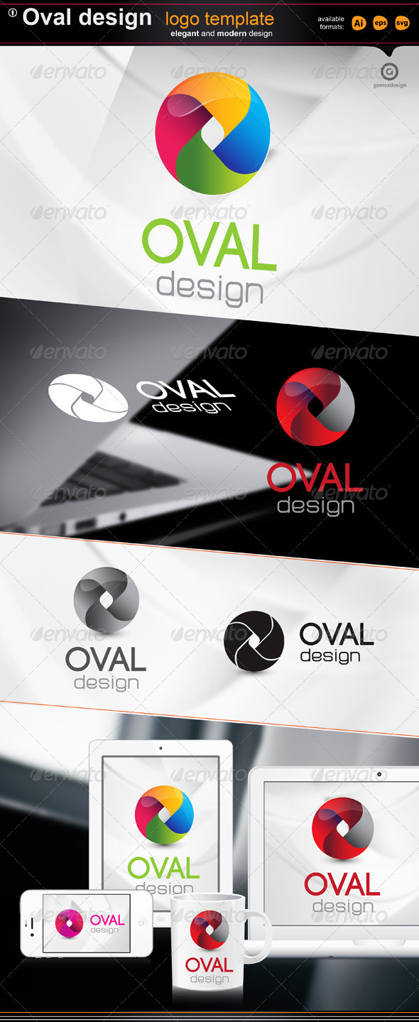 Oval design - Logo Templates