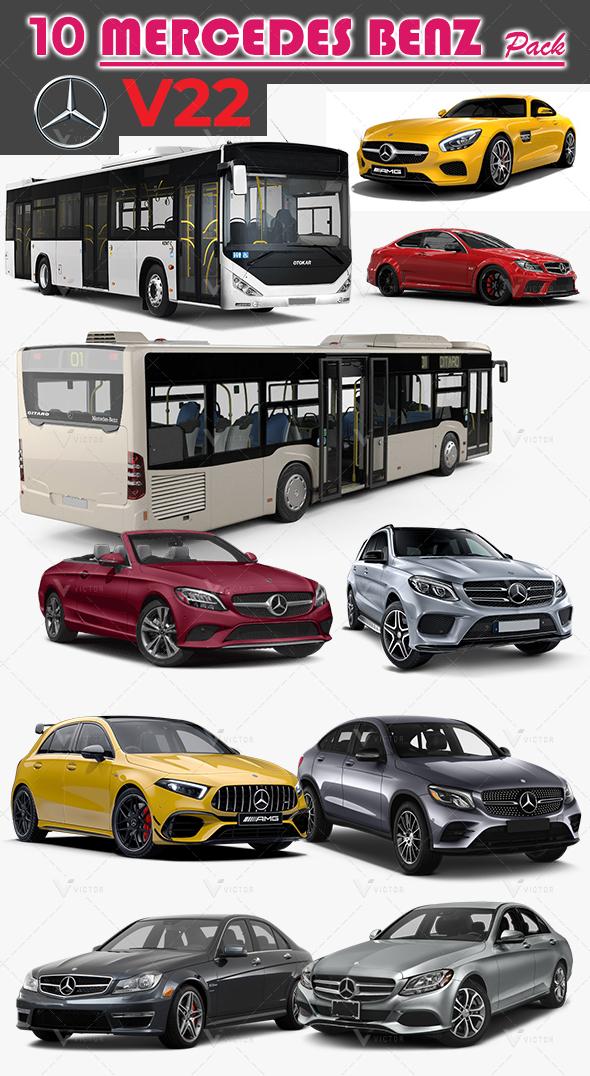 10 Mercedes Pack V22