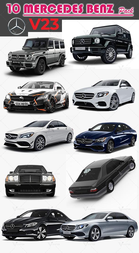 10 Mercedes Pack V23