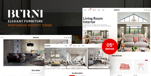 Burni - Elegant Furniture Shop For Shopify