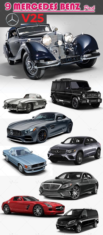 09 Mercedes Pack V25