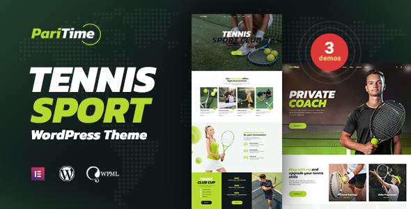 Wonderful Paritime - Tennis Club WordPress Theme