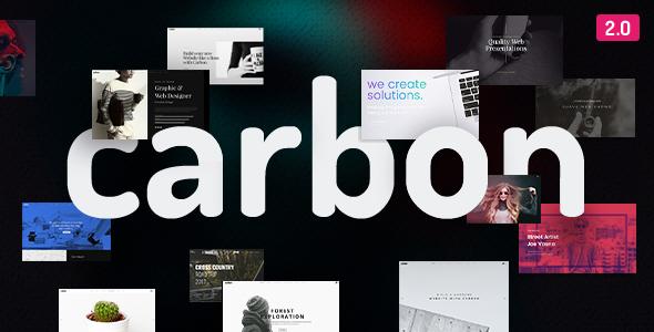 Awesome Carbon - Clean Minimal Multipurpose WordPress Theme